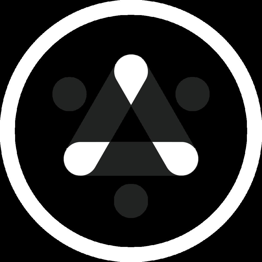 Logo #2 - lined - on orange