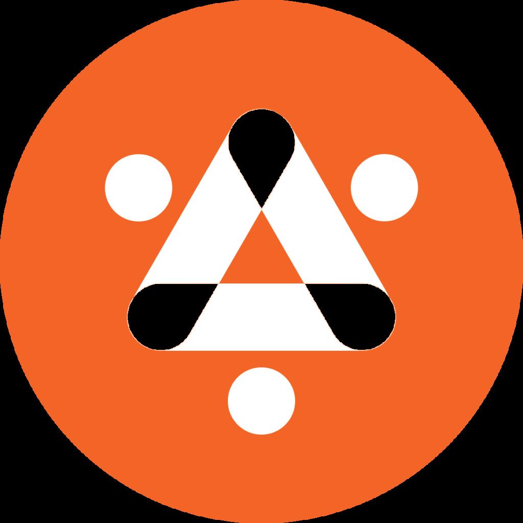 Logo #2 - solid - on black
